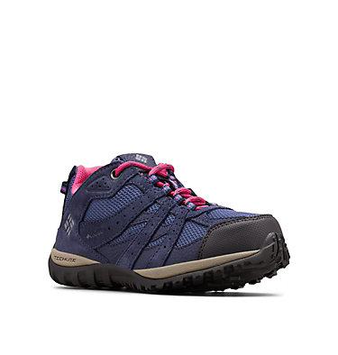Big Kids' Redmond™ Waterproof Shoe YOUTH REDMOND™ WATERPROOF | 012 | 1, Bluebell, Pink Ice, 3/4 front