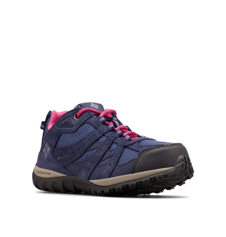YOUTH REDMOND™ WATERPROOF | 508 | 5 Big Kids' Redmond™ Waterproof Shoe, Bluebell, Pink Ice, 3/4 front