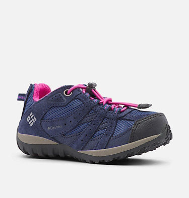 Little Kids' Redmond™ Waterproof Shoe CHILDRENS REDMOND™ WATERPROOF | 012 | 10, Bluebell, Pink Ice, 3/4 front