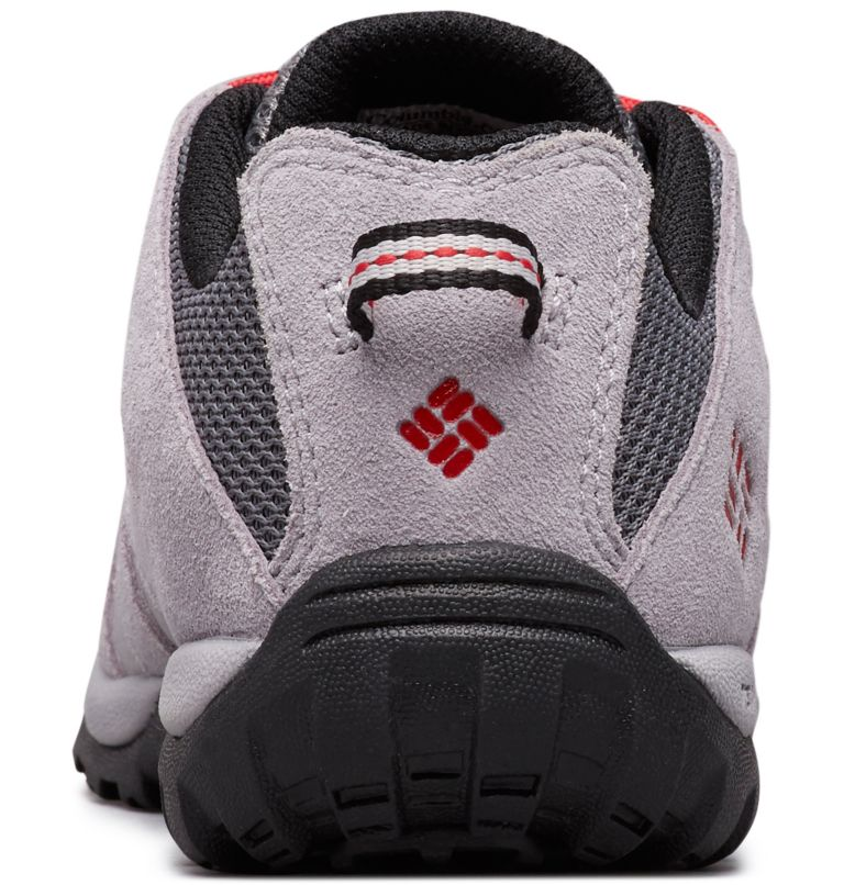 CHILDRENS REDMOND™ | 033 | 12 Zapatos Redmond para Niños, Ti Grey Steel, Mountain Red, back