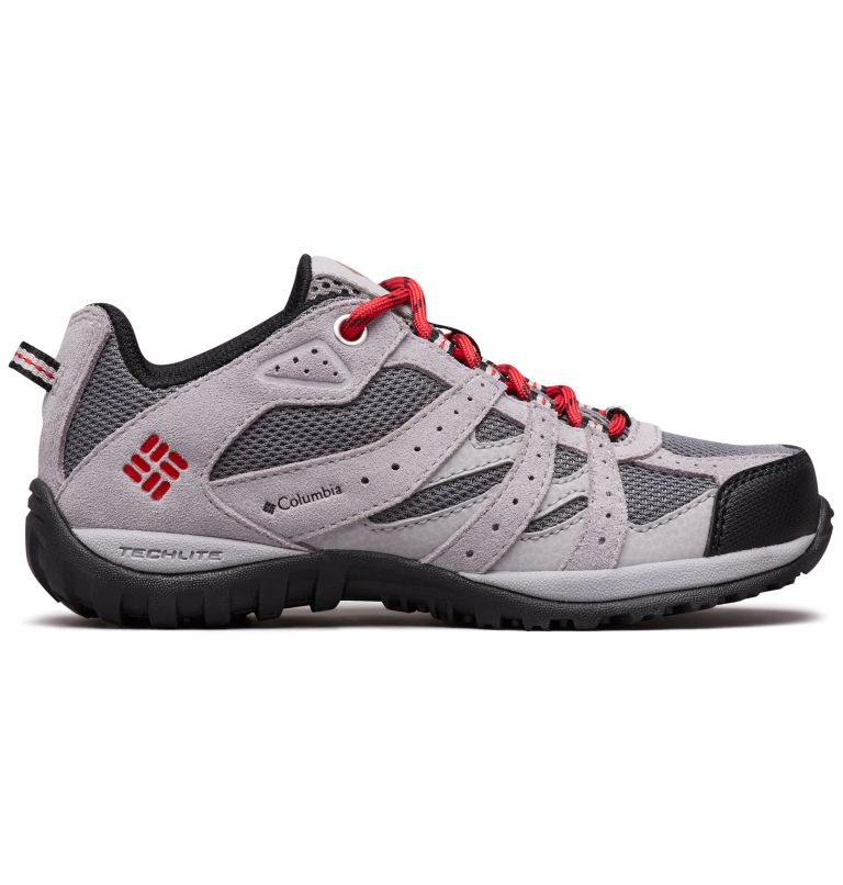 CHILDRENS REDMOND™ | 033 | 12 Zapatos Redmond para Niños, Ti Grey Steel, Mountain Red, front