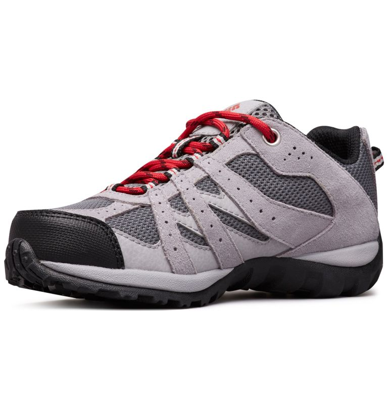 CHILDRENS REDMOND™ | 033 | 12 Zapatos Redmond para Niños, Ti Grey Steel, Mountain Red