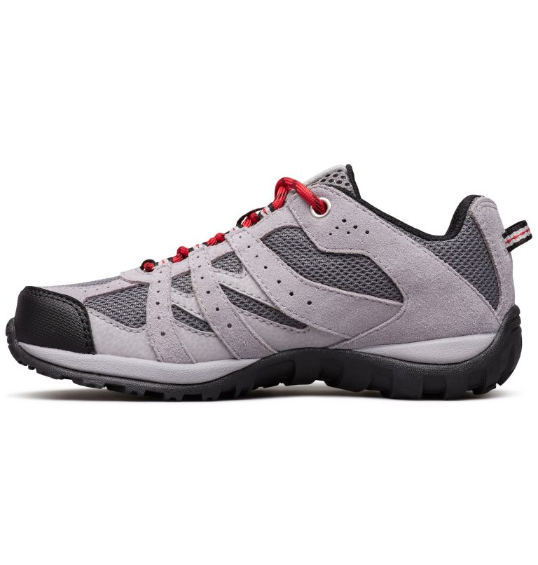 CHILDRENS REDMOND™ | 033 | 12 Zapatos Redmond para Niños, Ti Grey Steel, Mountain Red, medial