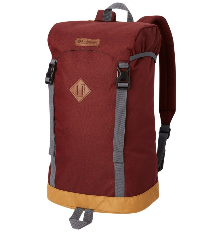 Classic Outdoor™ 25L Daypack | 615 | O/S Sac À Dos 25L Classic Outdoor™ Unisexe, Tapestry Heather, Maple, front
