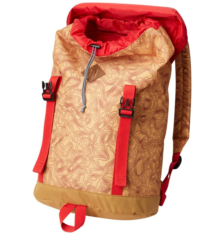 Classic Outdoor™ 25L Daypack | 718 | O/S Unisex Classic Outdoor™ 25L Daypack, Pilsner Topo Print, Maple, a1