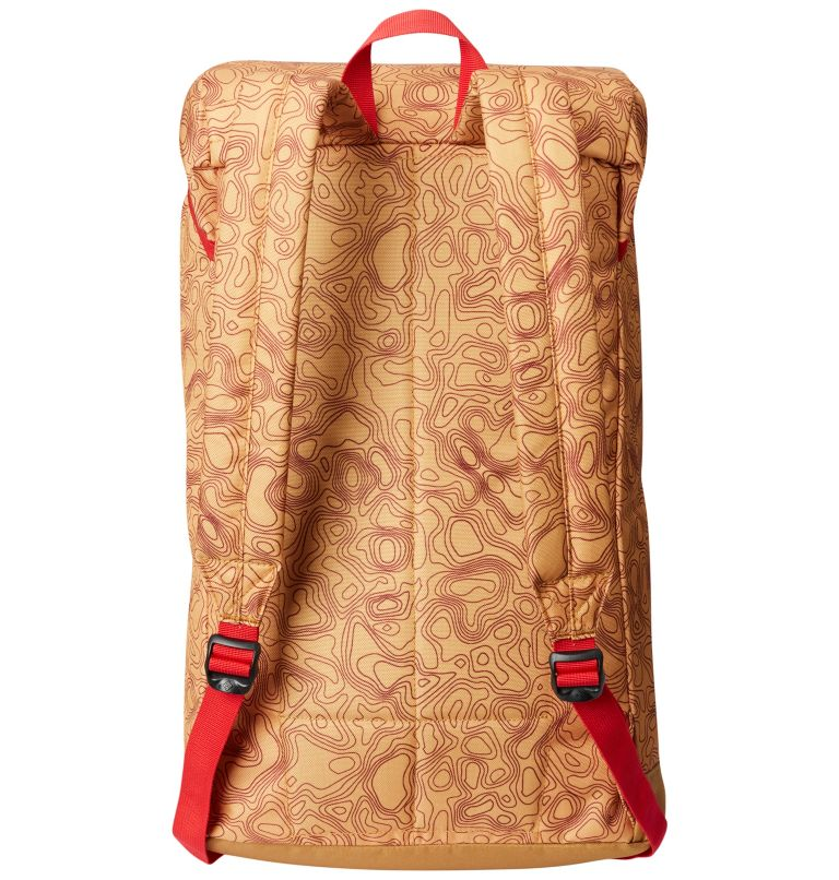 Classic Outdoor™ 25L Daypack | 718 | O/S Unisex Classic Outdoor™ 25L Daypack, Pilsner Topo Print, Maple, back