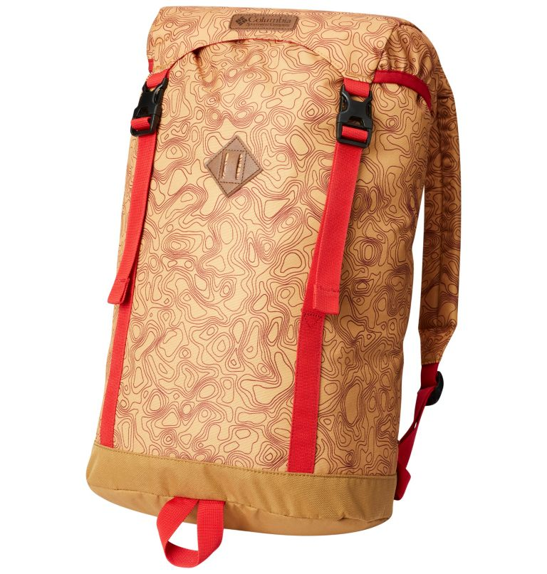 Classic Outdoor™ 25L Daypack | 718 | O/S Unisex Classic Outdoor™ 25L Daypack, Pilsner Topo Print, Maple, front