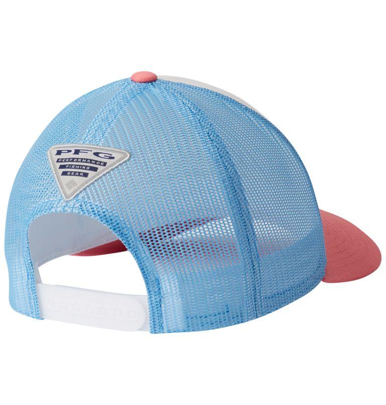 PFG Mesh™ Womens Ball Cap | 102 | O/S Women's PFG Mesh Snap Back™ Ball Cap, White, Sail, back