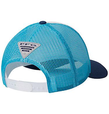Women's PFG Mesh Snap Back™ Ball Cap PFG Mesh™ Womens Ball Cap | 102 | O/S, White, Atoll, back