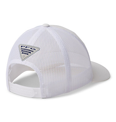 Women's PFG Mesh Snap Back™ Ball Cap PFG Mesh™ Womens Ball Cap | 106 | O/S, White, PFG Hooks, back