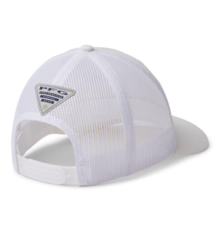 PFG Mesh™ Womens Ball Cap   106   O/S Women's PFG Mesh Snap Back™ Ball Cap, White, PFG Hooks, back
