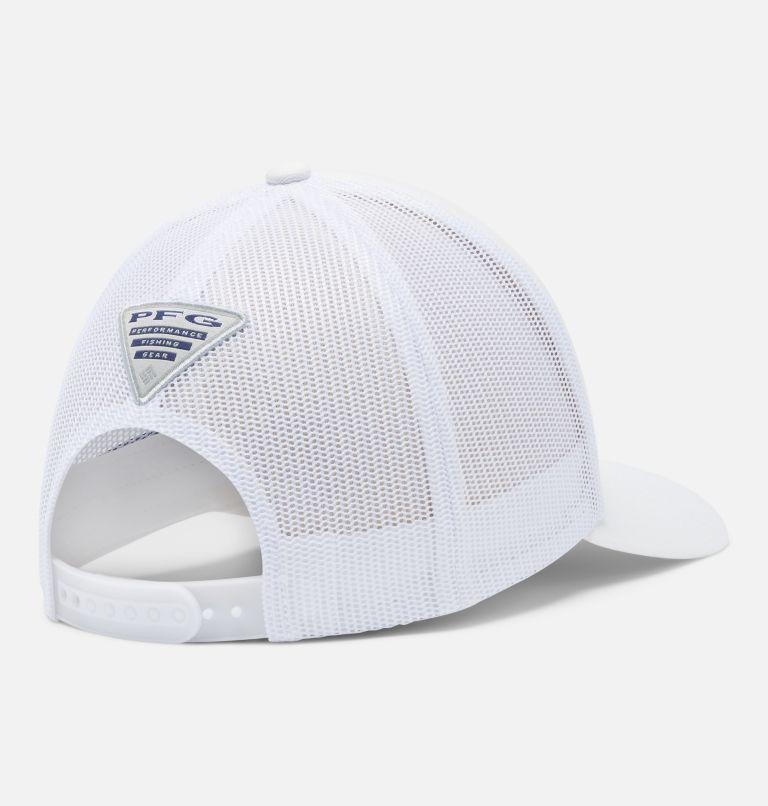 PFG Mesh™ Womens Ball Cap   107   O/S Women's PFG Mesh Snap Back™ Ball Cap, White, PFG Hooks, back