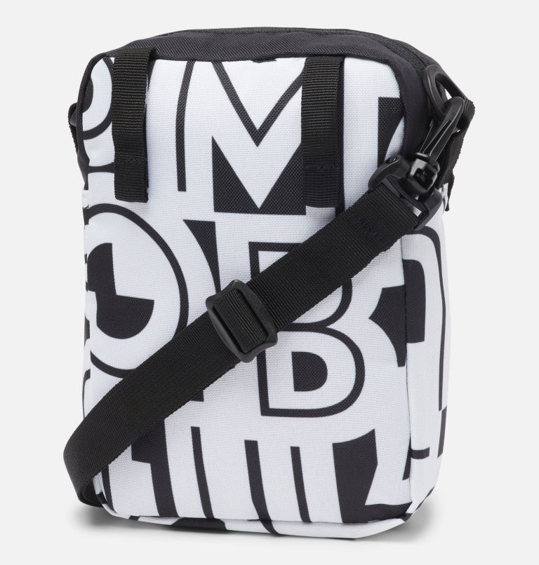 Urban Uplift™ Side Bag | 100 | O/S Urban Uplift™ Side Bag, White Typo, Black, back