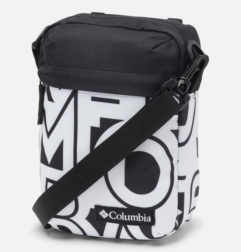 Urban Uplift™ Side Bag | 100 | O/S Urban Uplift™ Side Bag, White Typo, Black, front