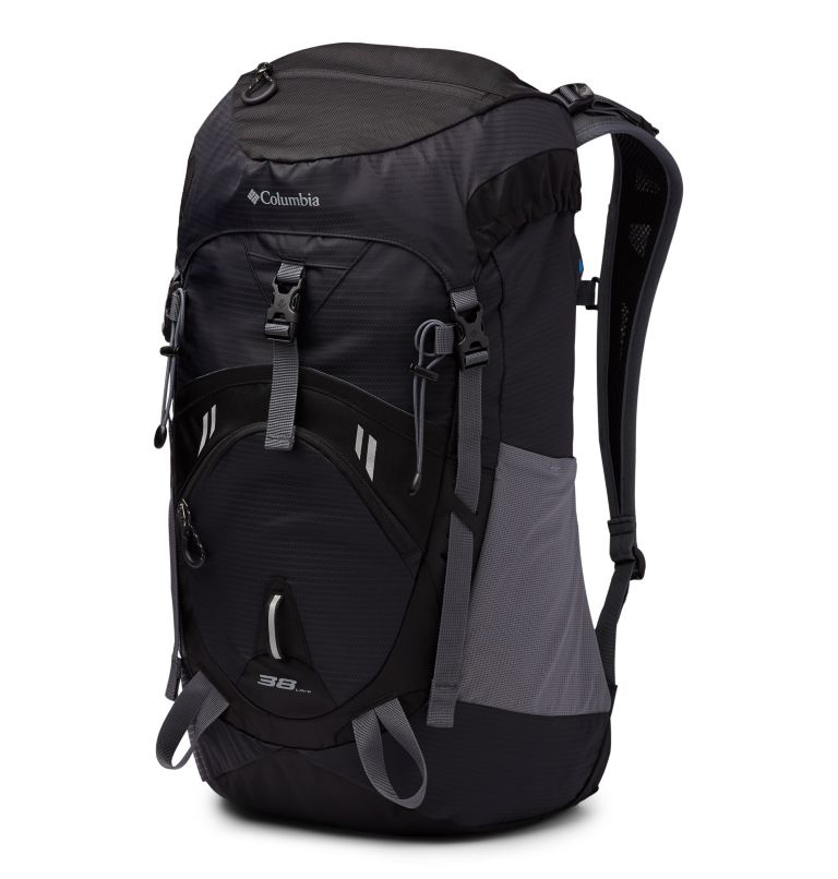 Outdoor Adventure™ 38L Backpack | 010 | O/S Outdoor Adventure™ 38L Backpack, Black, front