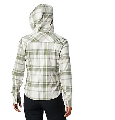 Women's Acadia Stretch™ Hooded Long Sleeve Shirt Acadia Stretch™ Hooded Long Sl | 105 | XS, Cotton, back