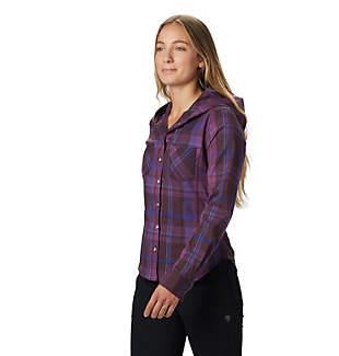 Women's Acadia Stretch™ Hooded Long Sleeve Shirt
