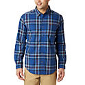 Columbia Boulder Ridge Mens Long Sleeve Flannel Shirt