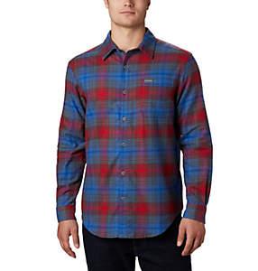 Chemise à manches longues en flanelle Boulder Ridge™ pour homme