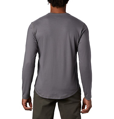 T-shirt col rond à manches longues Rugged Ridge™ pour homme Rugged Ridge™ Long Sleeve Crew | 397 | L, City Grey Heather, back