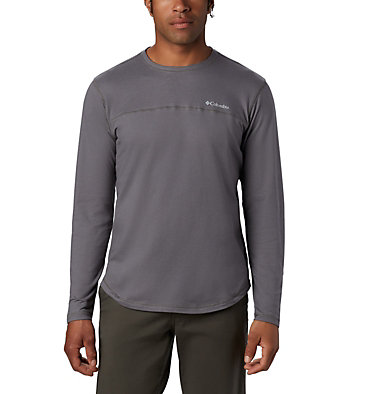 T-shirt col rond à manches longues Rugged Ridge™ pour homme Rugged Ridge™ Long Sleeve Crew | 397 | L, City Grey Heather, front