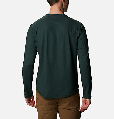 Men's Rugged Ridge™ Long Sleeve Crew Rugged Ridge™ Long Sleeve Crew | 449 | S, Spruce Heather, back