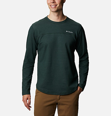Men's Rugged Ridge™ Long Sleeve Crew Rugged Ridge™ Long Sleeve Crew | 449 | S, Spruce Heather, front