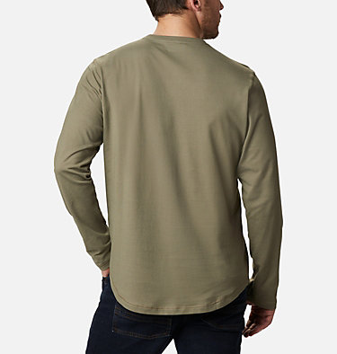 Men's Rugged Ridge™ Long Sleeve Crew Rugged Ridge™ Long Sleeve Crew | 449 | S, Stone Green Heather, back