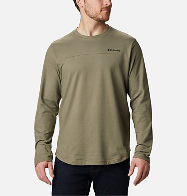 Men's Rugged Ridge™ Long Sleeve Crew Rugged Ridge™ Long Sleeve Crew | 449 | S, Stone Green Heather, front