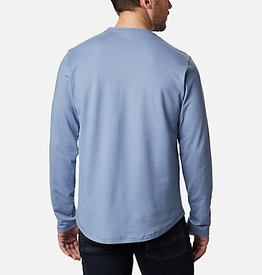 Men's Rugged Ridge™ Long Sleeve Crew Rugged Ridge™ Long Sleeve Crew | 449 | S, Bluestone Heather, back