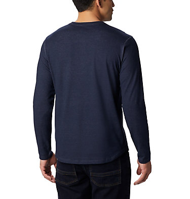 Men's Rugged Ridge™ Long Sleeve Crew Rugged Ridge™ Long Sleeve Crew | 449 | S, Collegiate Navy Heather, back