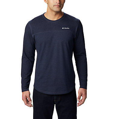 Men's Rugged Ridge™ Long Sleeve Crew Rugged Ridge™ Long Sleeve Crew | 449 | S, Collegiate Navy Heather, front