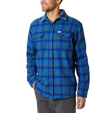 Chemise en flanelle épaisse Deschutes River™ pour homme Deschutes River™ Heavyweight Flannel | 630 | S, Collegiate Navy Medium Plaid, front