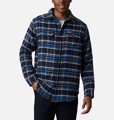 Chemise en flanelle épaisse Deschutes River™ pour homme Deschutes River™ Heavyweight Flannel | 630 | S, Collegiate Navy Plaid, front