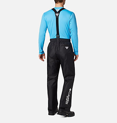 Men's PFG Storm™ Bib Pants PFG Storm™ Bib Pant | 010 | L, Black, back