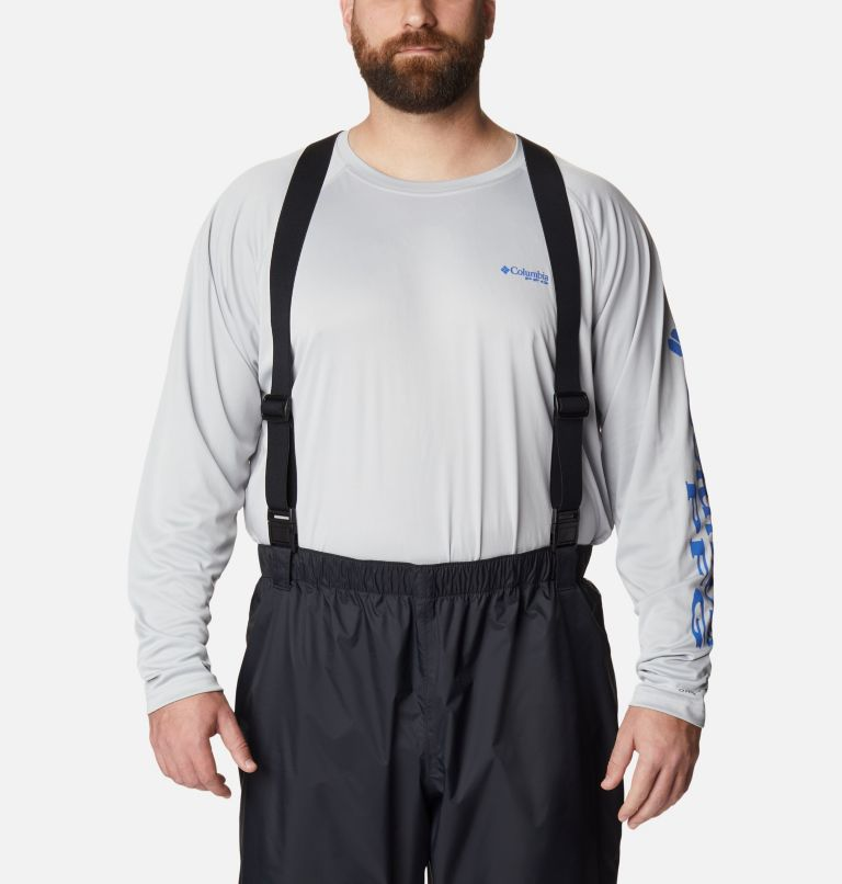 PFG Storm™ Bib Pant | 010 | 4X Men's PFG Storm™ Bib Pants, Black, a2