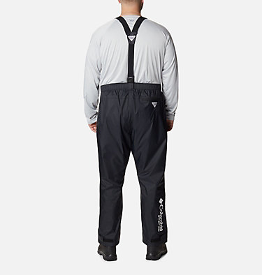 Men's PFG Storm™ Bib Pants PFG Storm™ Bib Pant | 010 | 3X, Black, back