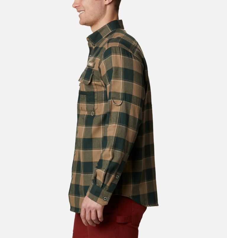 Sharptail™ Flannel | 371 | XXL Men's PHG Sharptail™ Flannel, Spruce Chunky Plaid, a1