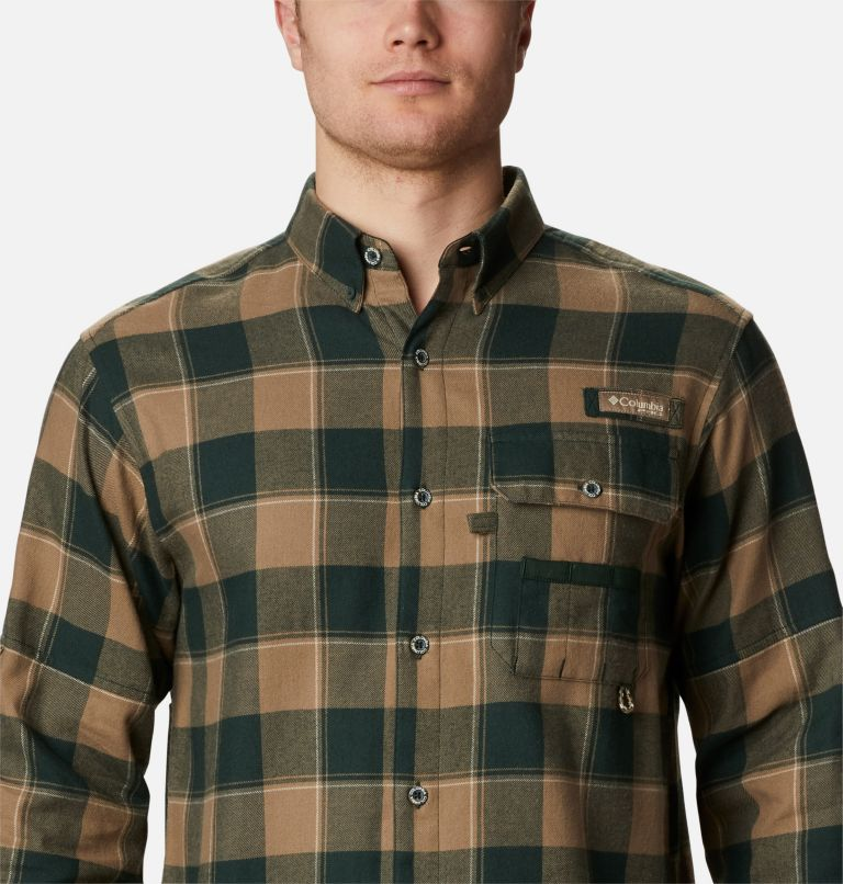 Sharptail™ Flannel | 371 | XXL Men's PHG Sharptail™ Flannel, Spruce Chunky Plaid, a2