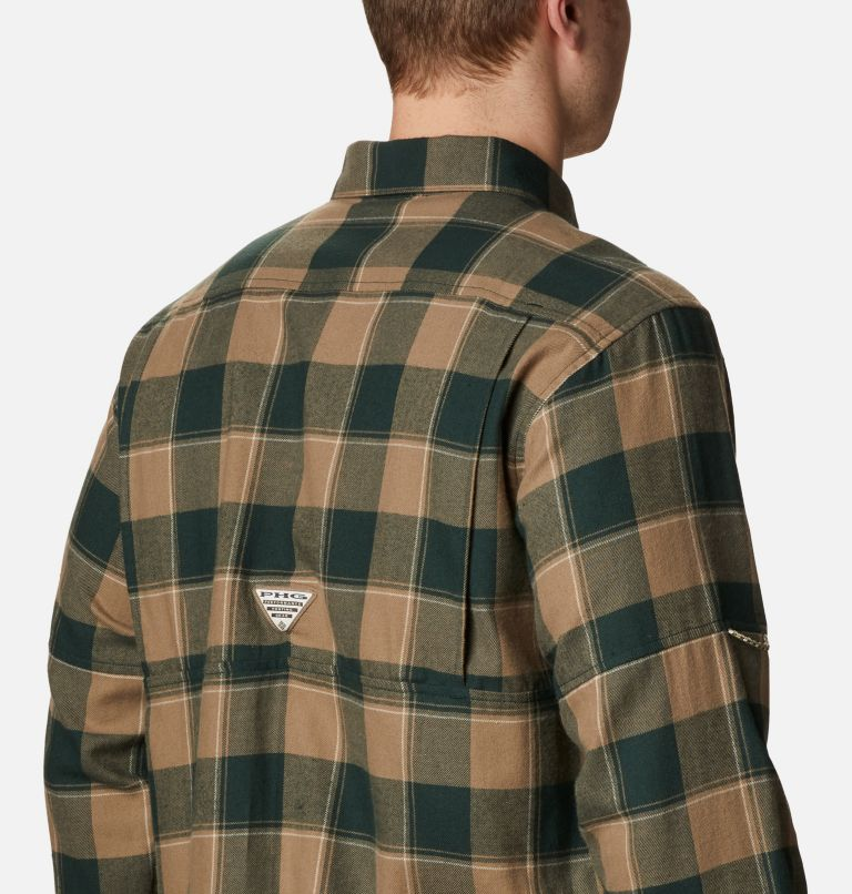 Sharptail™ Flannel | 371 | XXL Men's PHG Sharptail™ Flannel, Spruce Chunky Plaid, a3