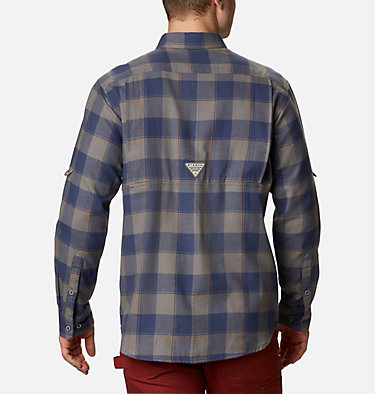 Men's PHG Sharptail™ Flannel Sharptail™ Flannel | 467 | XL, Nocturnal Chunky Plaid, back