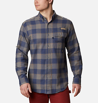 Men's PHG Sharptail™ Flannel Sharptail™ Flannel | 467 | XL, Nocturnal Chunky Plaid, front