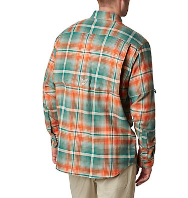 Men's PHG Sharptail™ Flannel Sharptail™ Flannel | 868 | M, Backcountry Orange Multi Plaid, back