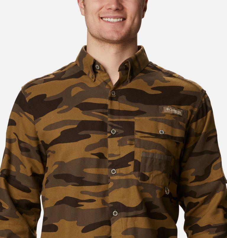 Sharptail™ Flannel | 938 | XXL Men's PHG Sharptail™ Flannel, Brown Gallatin Camo, a2
