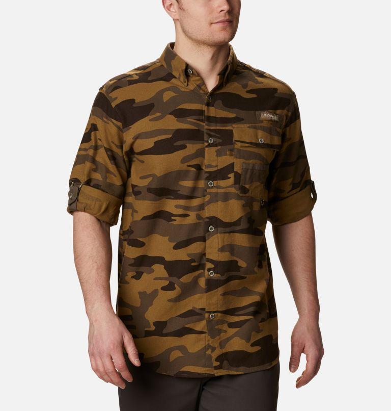 Sharptail™ Flannel | 938 | XXL Men's PHG Sharptail™ Flannel, Brown Gallatin Camo, a4