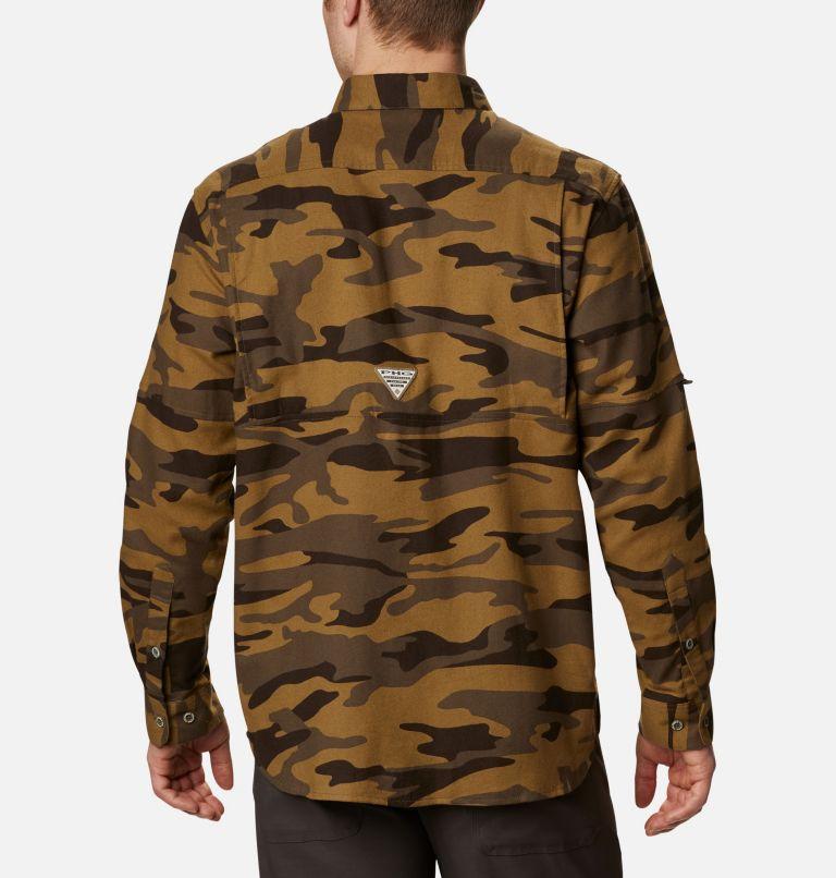 Sharptail™ Flannel | 938 | XXL Men's PHG Sharptail™ Flannel, Brown Gallatin Camo, back