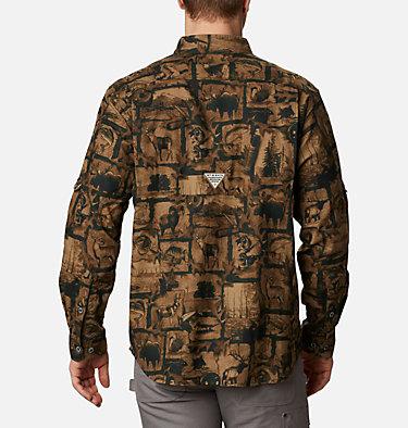 Men's PHG Sharptail™ Flannel - Big Sharptail™ Flannel | 914 | 4X, Spruce Outdoorsman Print, back