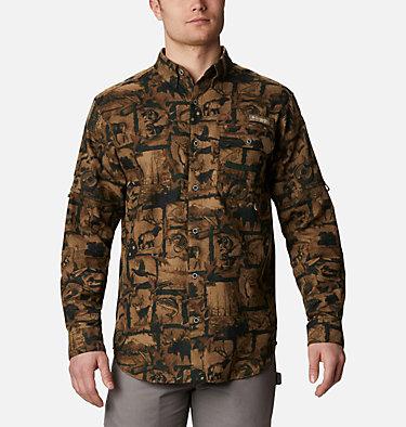 Men's PHG Sharptail™ Flannel - Big Sharptail™ Flannel | 914 | 4X, Spruce Outdoorsman Print, front