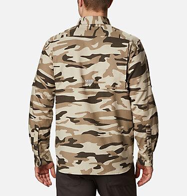 Men's PHG Sharptail™ Flannel - Big Sharptail™ Flannel | 914 | 4X, Snow Gallatin Camo, back