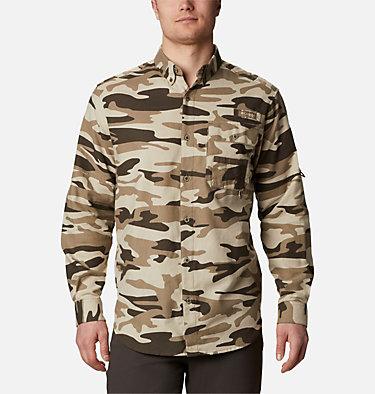 Men's PHG Sharptail™ Flannel - Big Sharptail™ Flannel | 914 | 4X, Snow Gallatin Camo, front